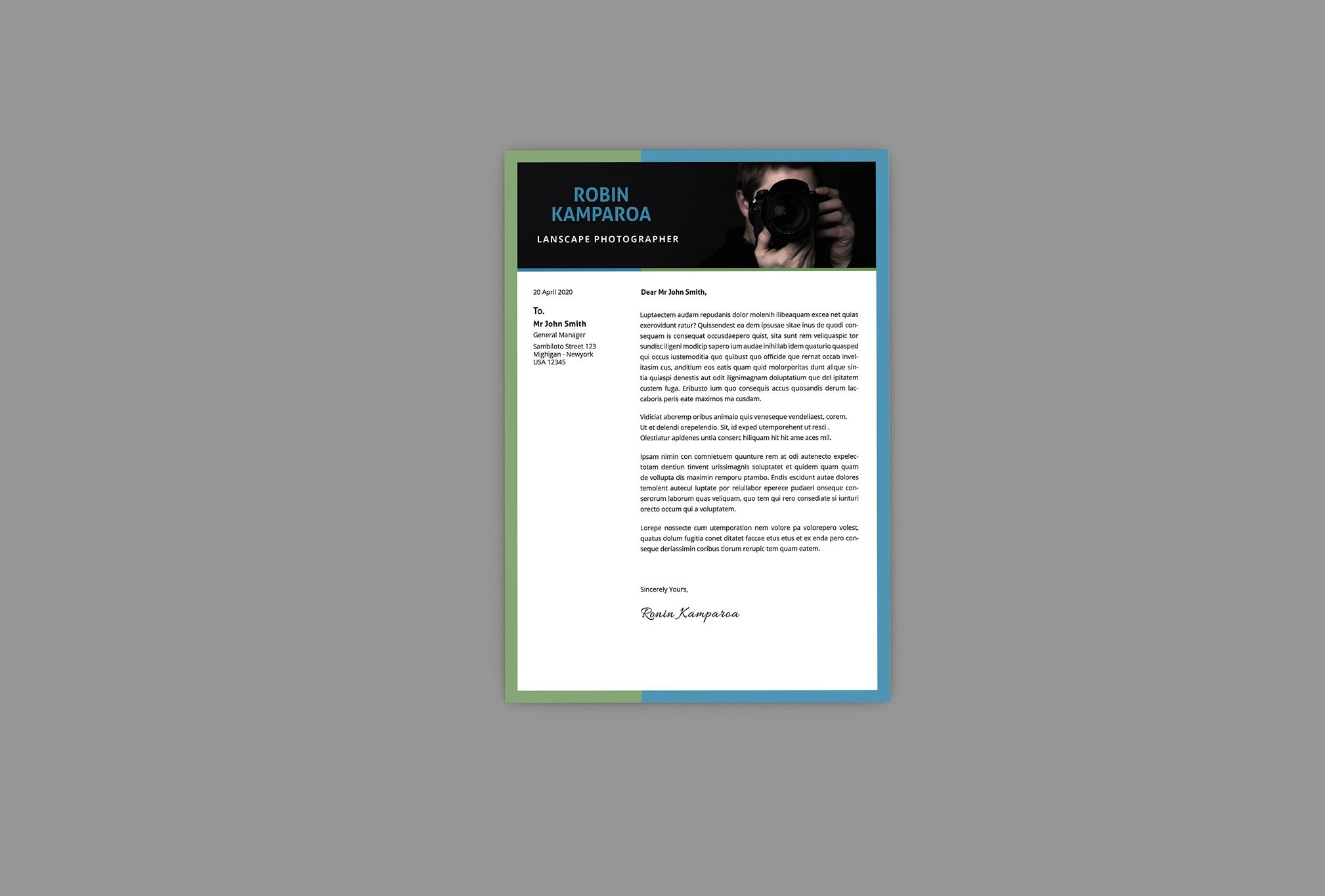 Shining CV Resume Designer example image 3