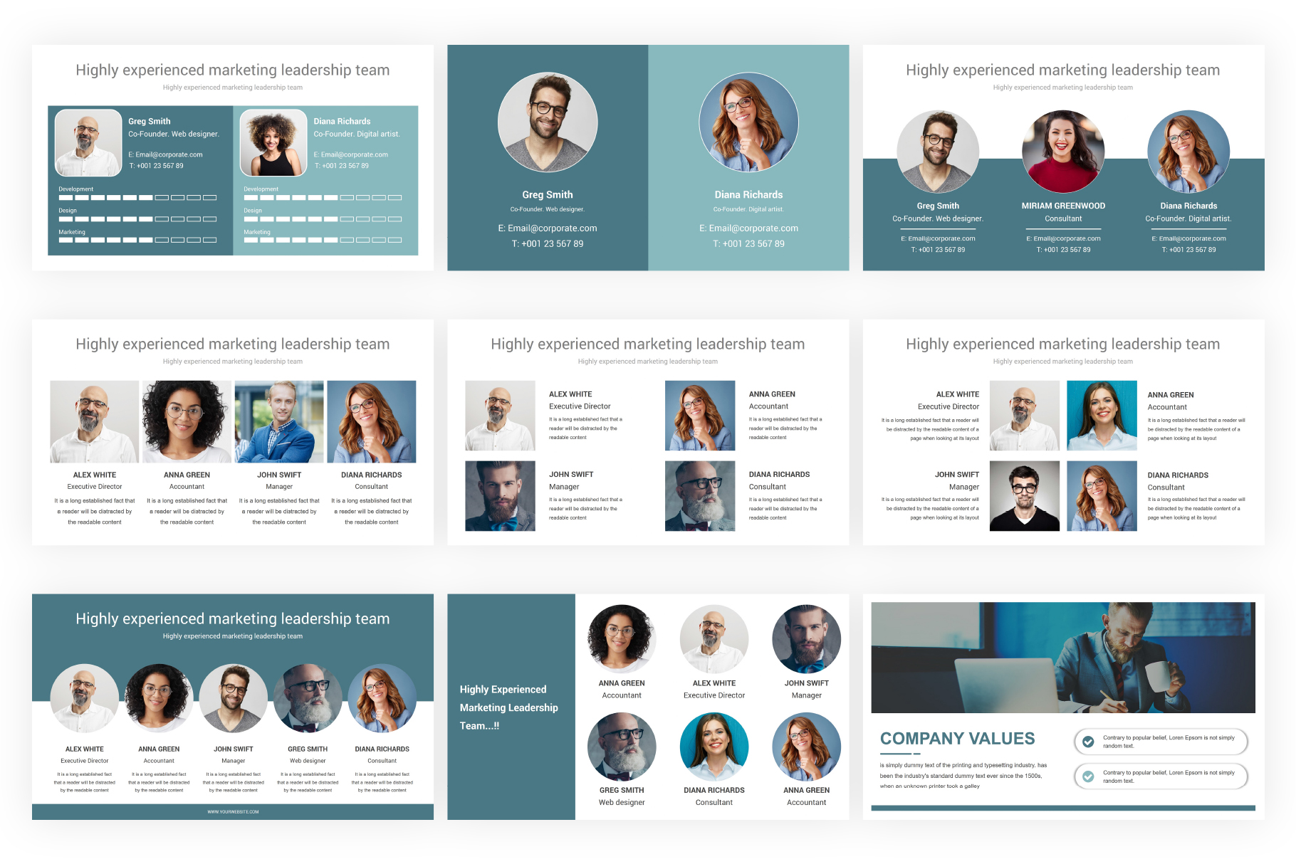 Marketing Plan PowerPoint Presentation Template example image 4