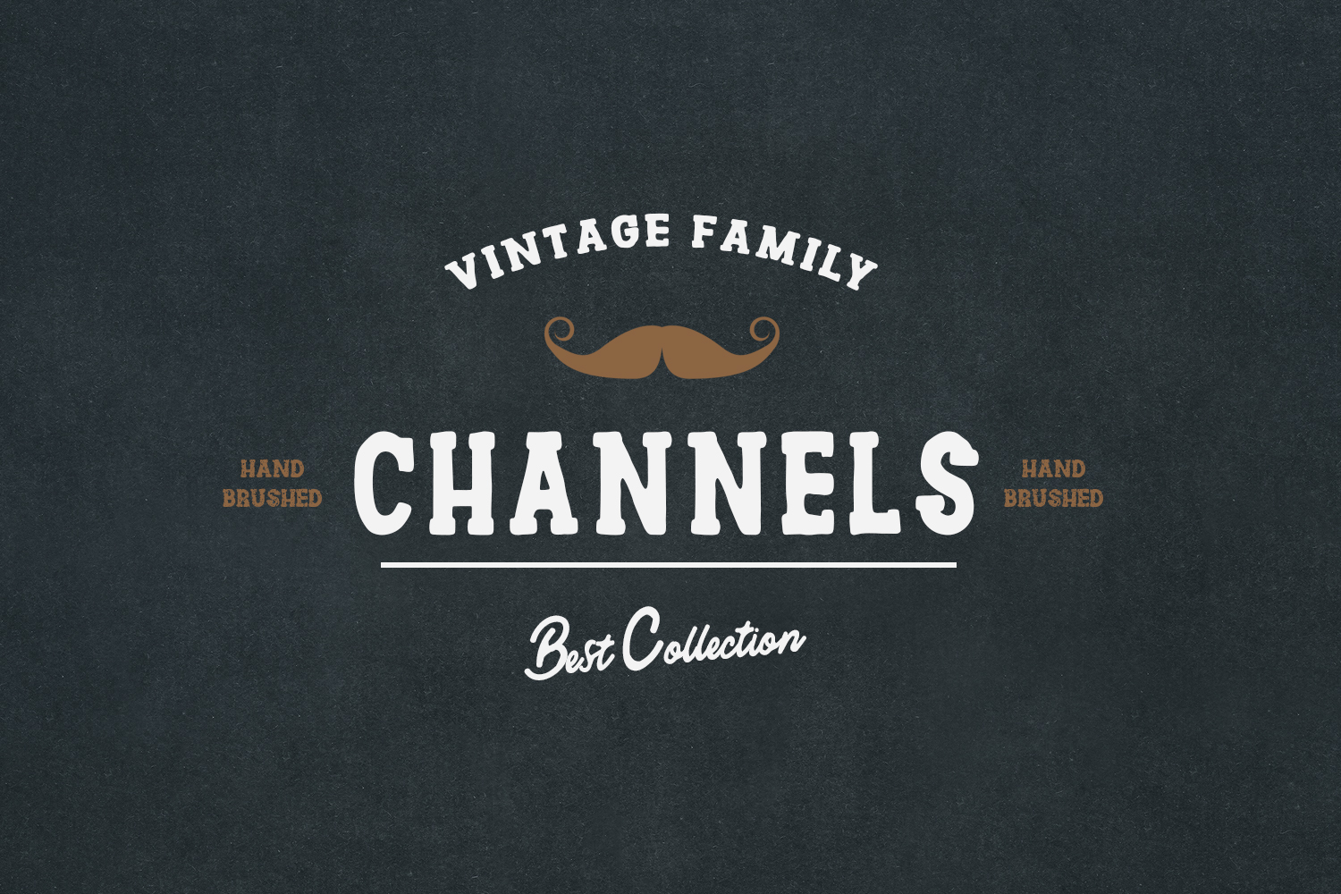 Channles - Family Vintage Font example image 2