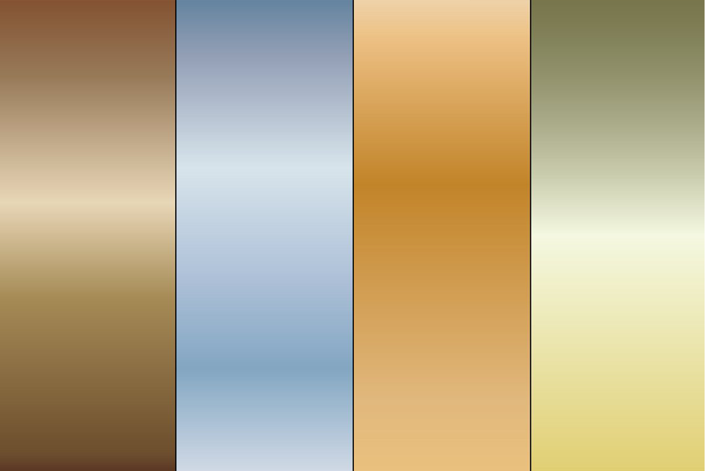 Gradient Metallic Backgrounds example image 4