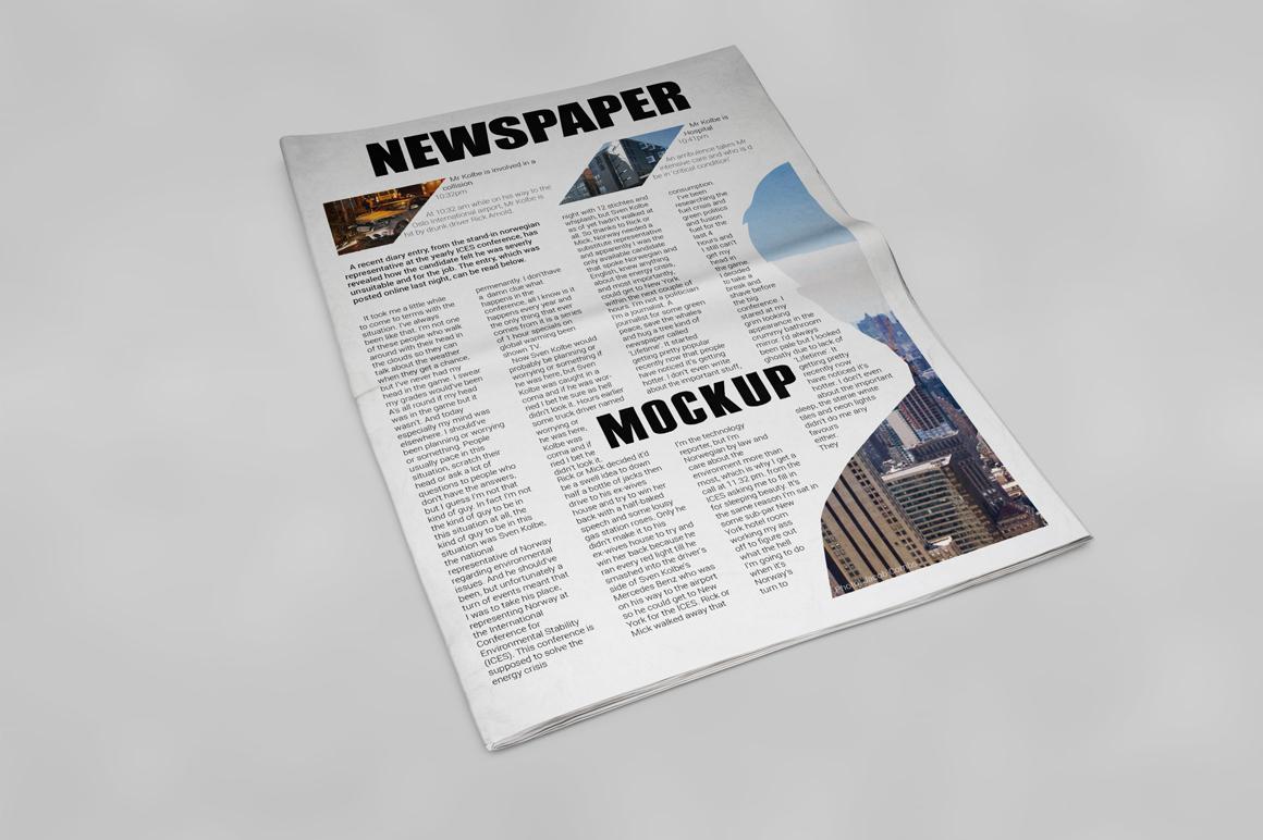 Newspaper Mockup example image 18