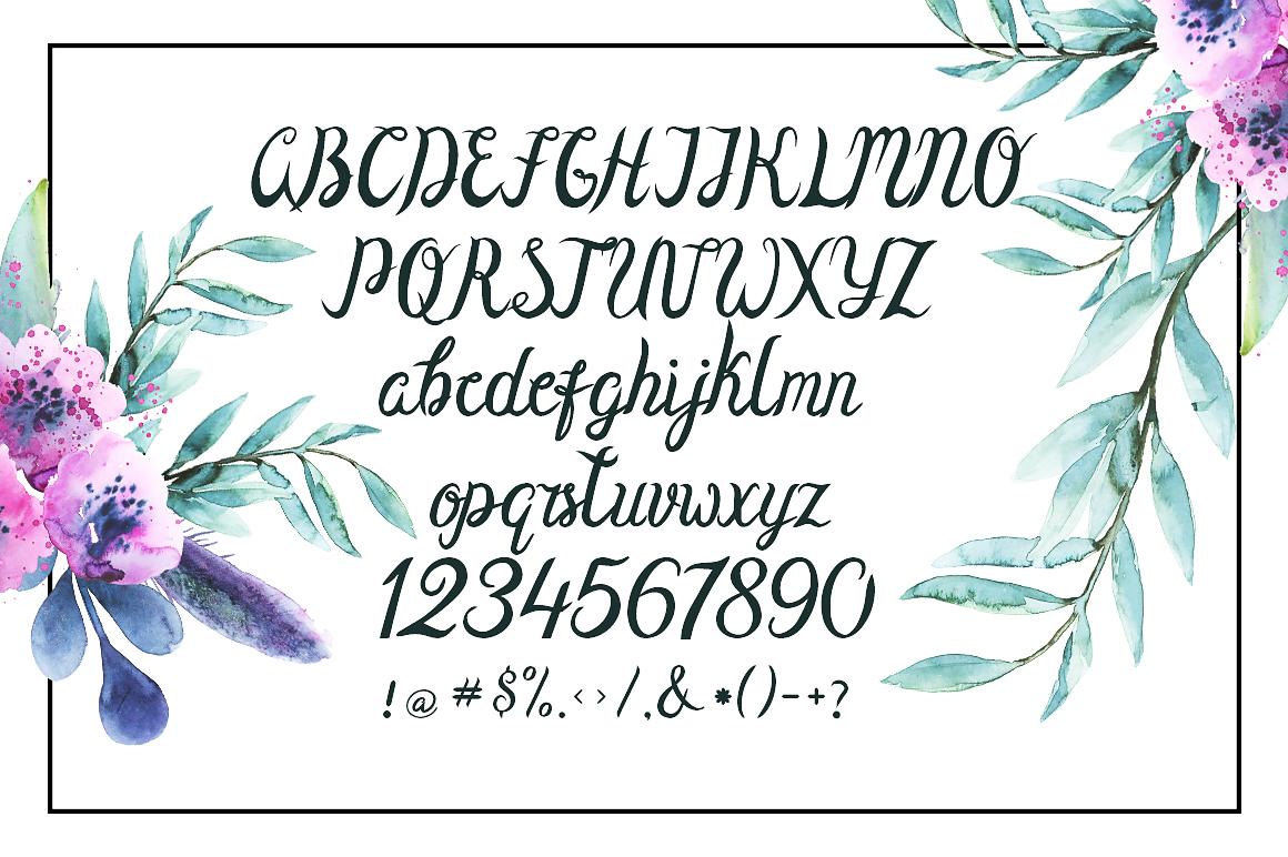 Olivia Sand Typeface example image 4