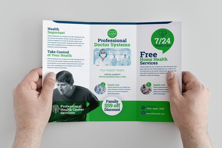 Health Professional Trifold Brochure Template example image 8