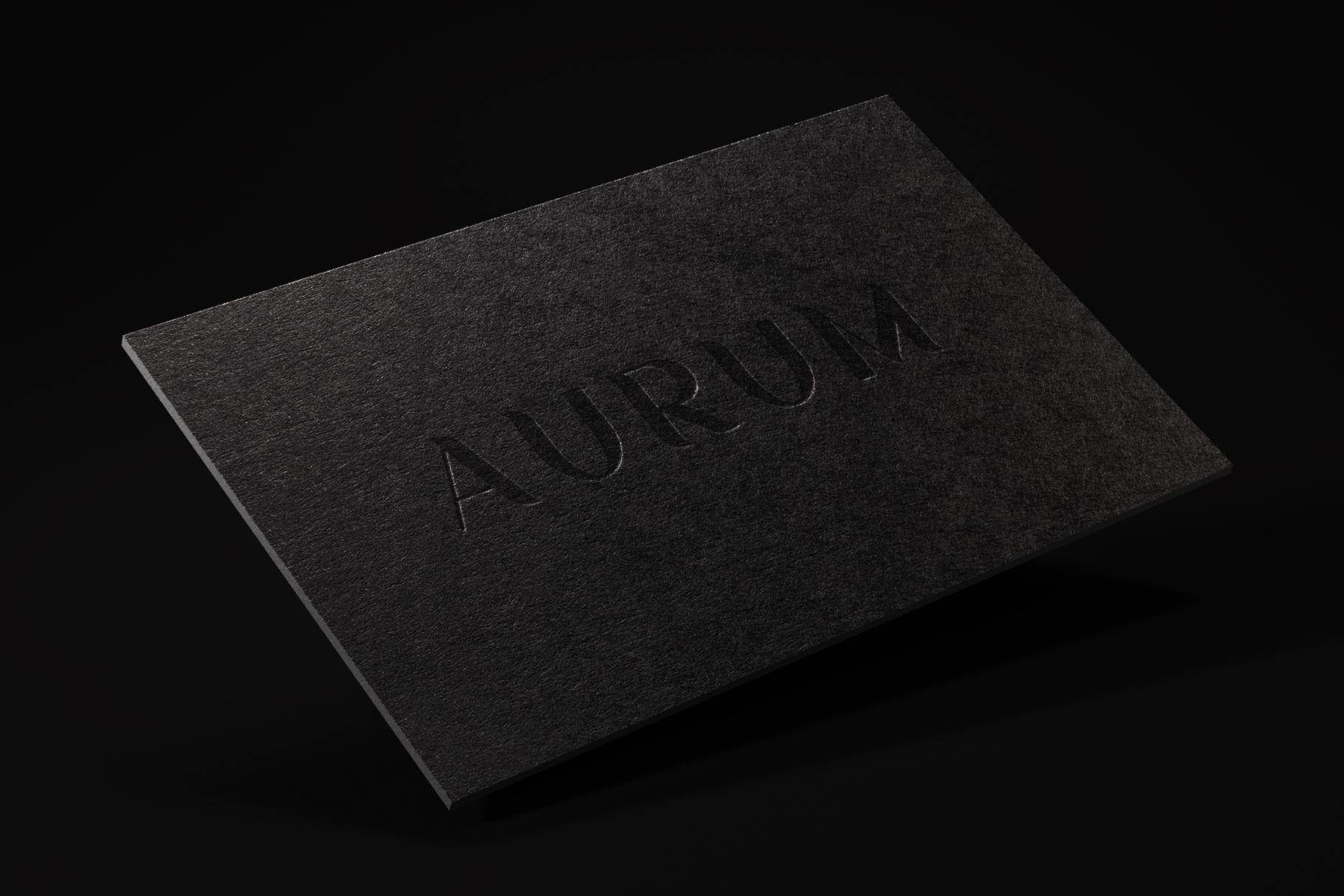 Aurum. Elegant Sans Serif typeface. example image 10
