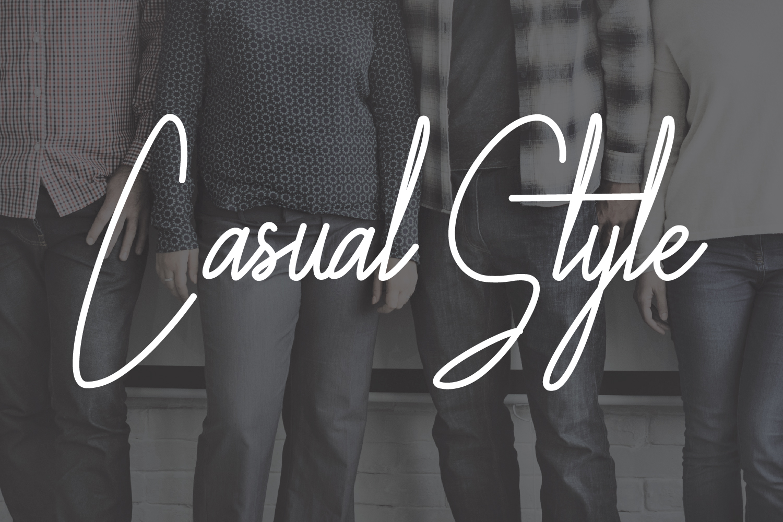 Galliyani Handwritten Font Style example image 4