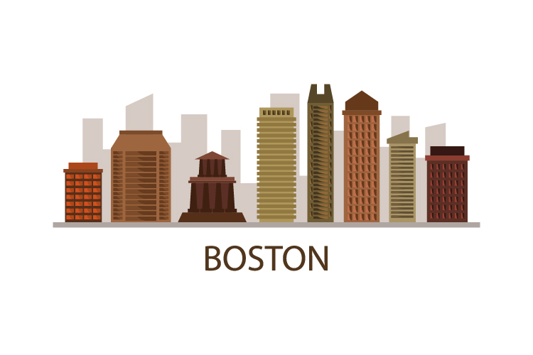 Boston skyline example image 1