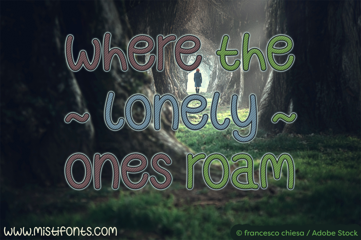 Where the Lonely Ones Roam example image 1