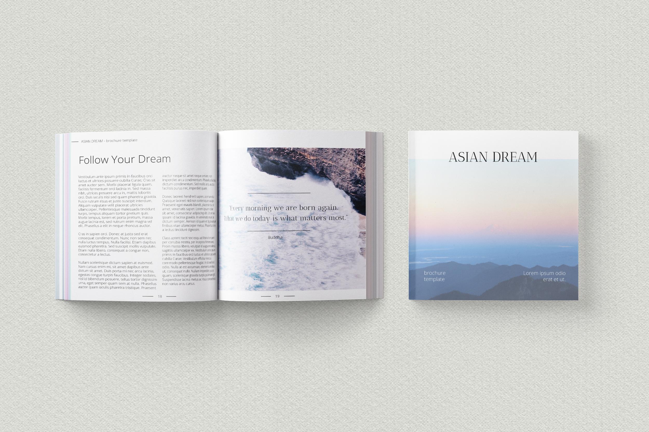 Asian Dream Brochure Template example image 5
