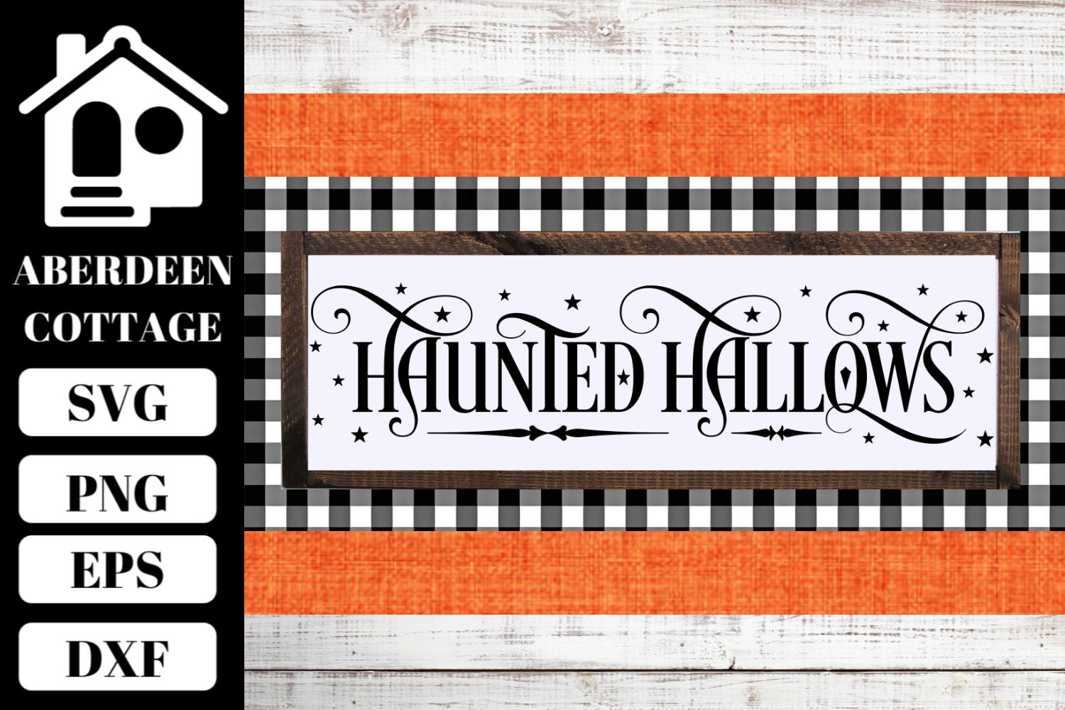 Haunted Hallows SVG example image 1