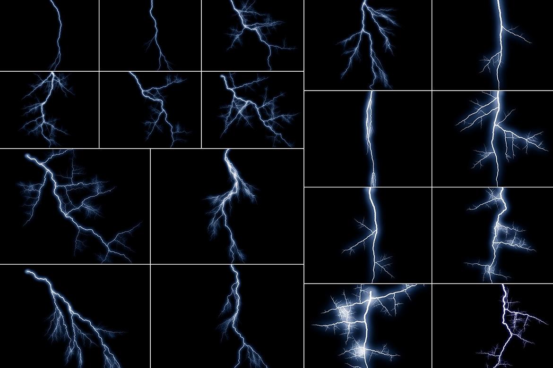 100 Lightning Overlays Vol. 2 example image 3