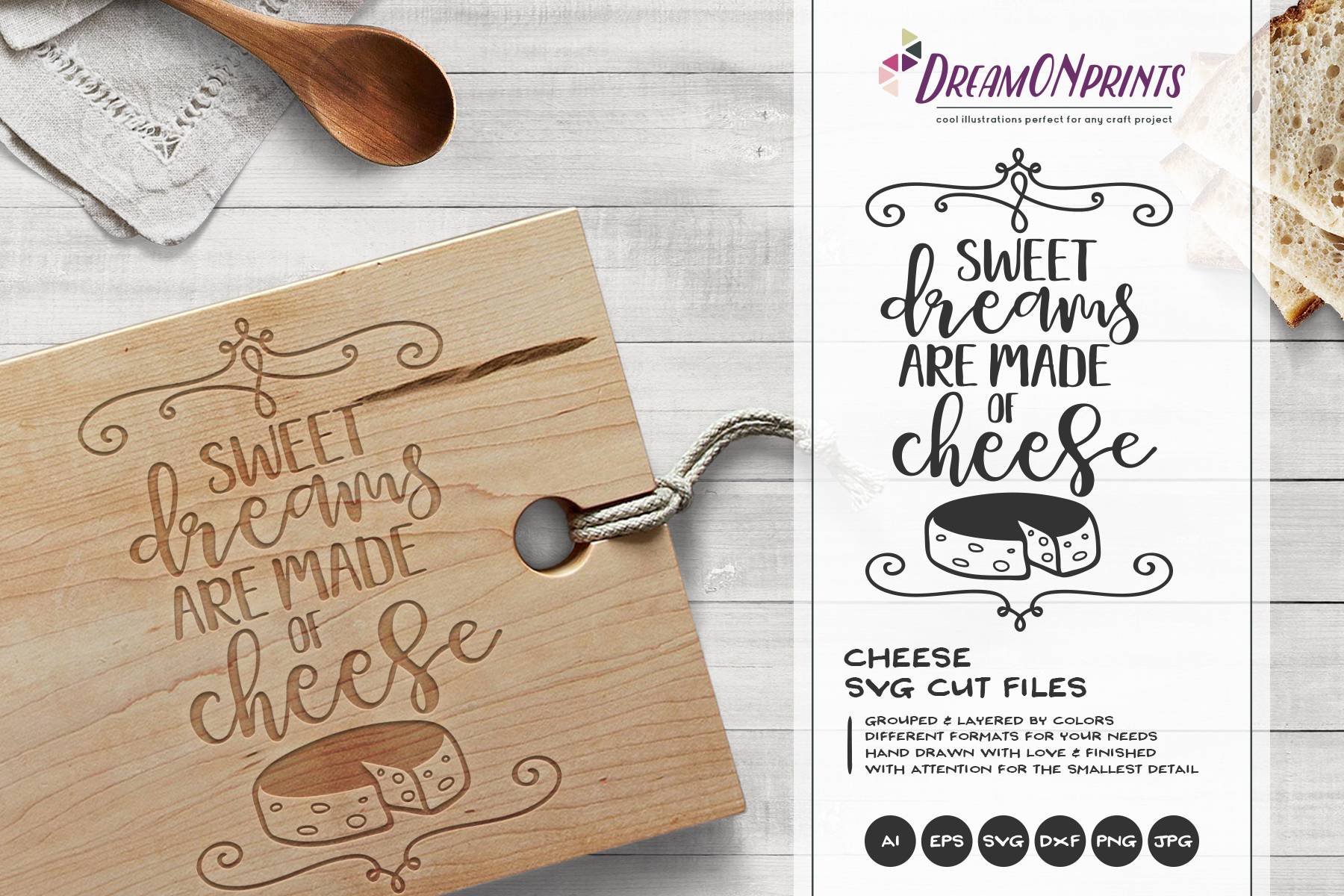 Wine and Cheese SVG BUNDLE - Bundle SVG Cut Files example image 10