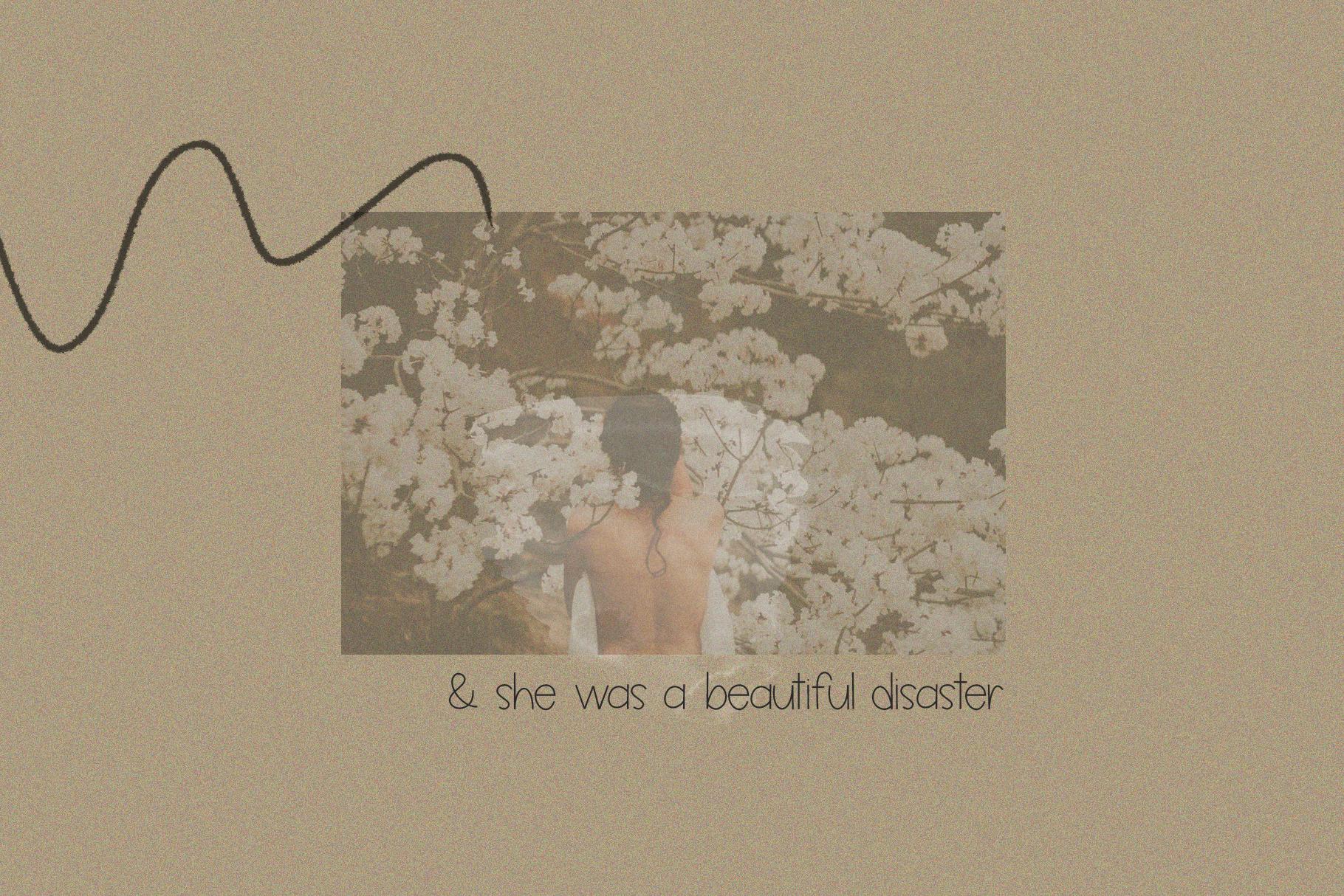 Butterflies - A Thin Handwritten Font example image 4