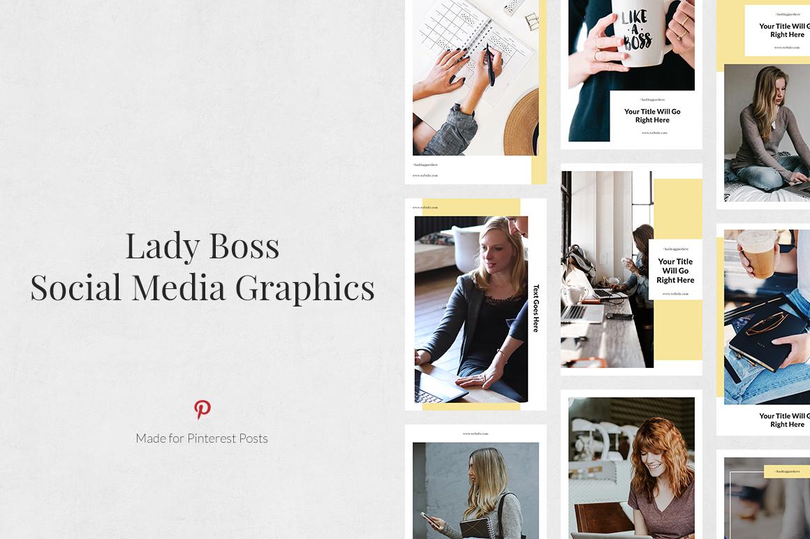 Lady Boss Pinterest Posts example image 1