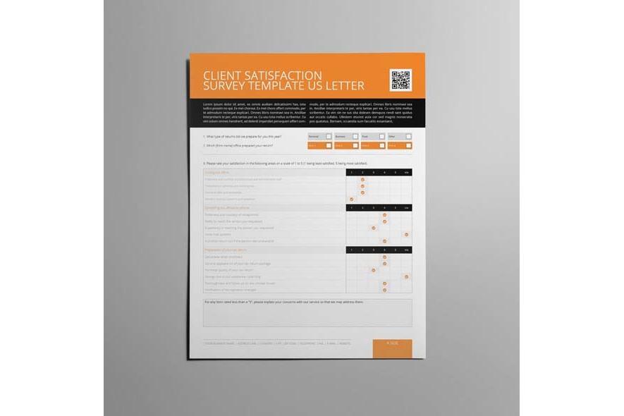 Client Satisfaction Survey Template US Letter example image 4