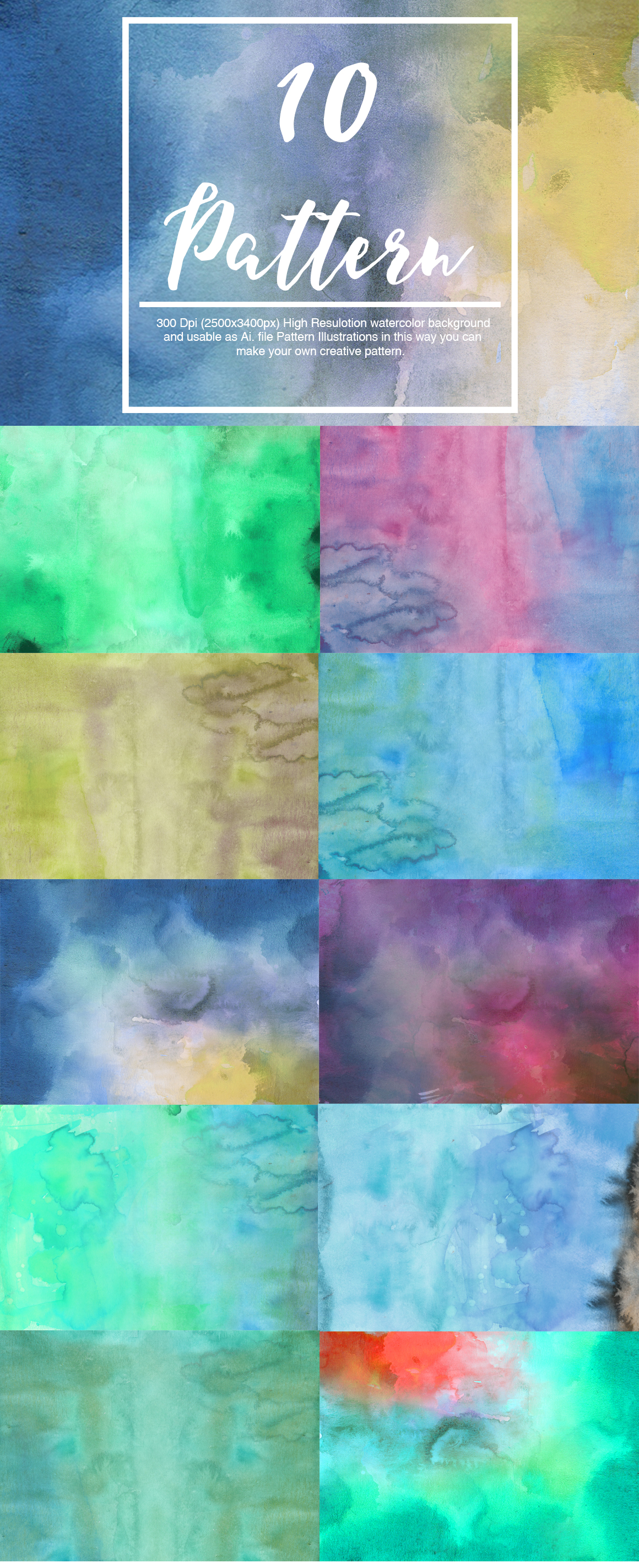 Watercolor Pack example image 3