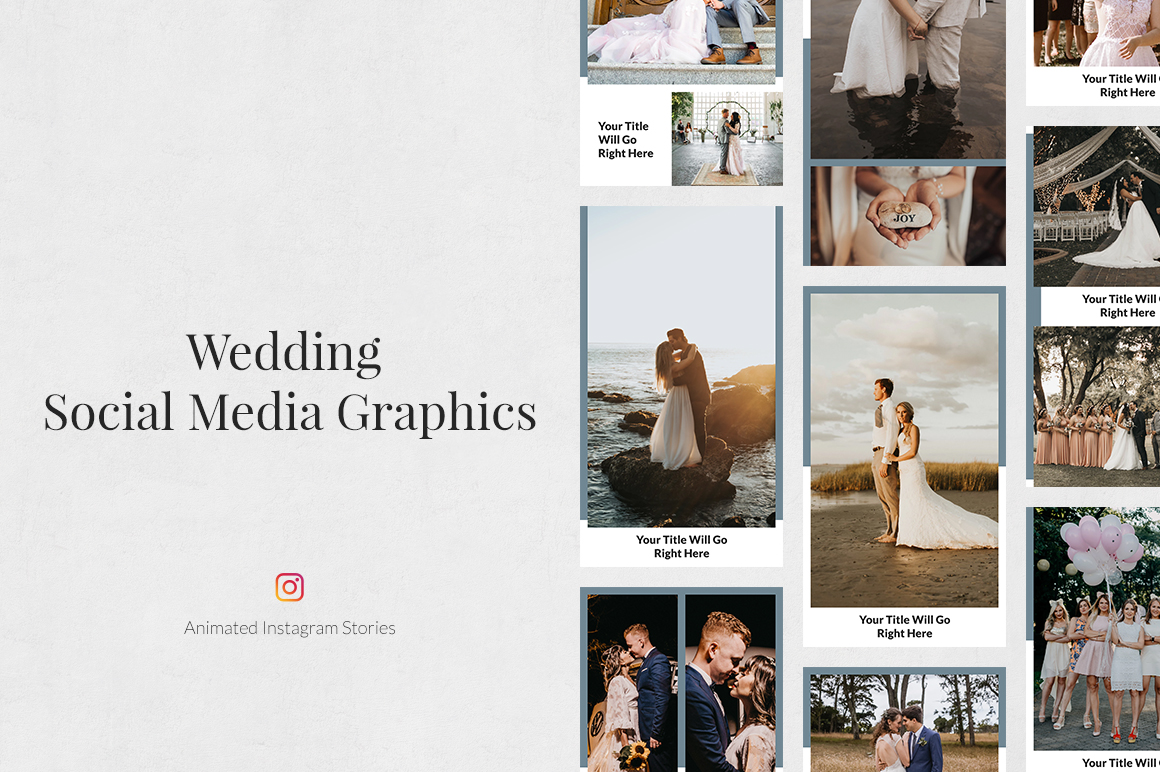 Wedding Animated Instagram Stories example image 1
