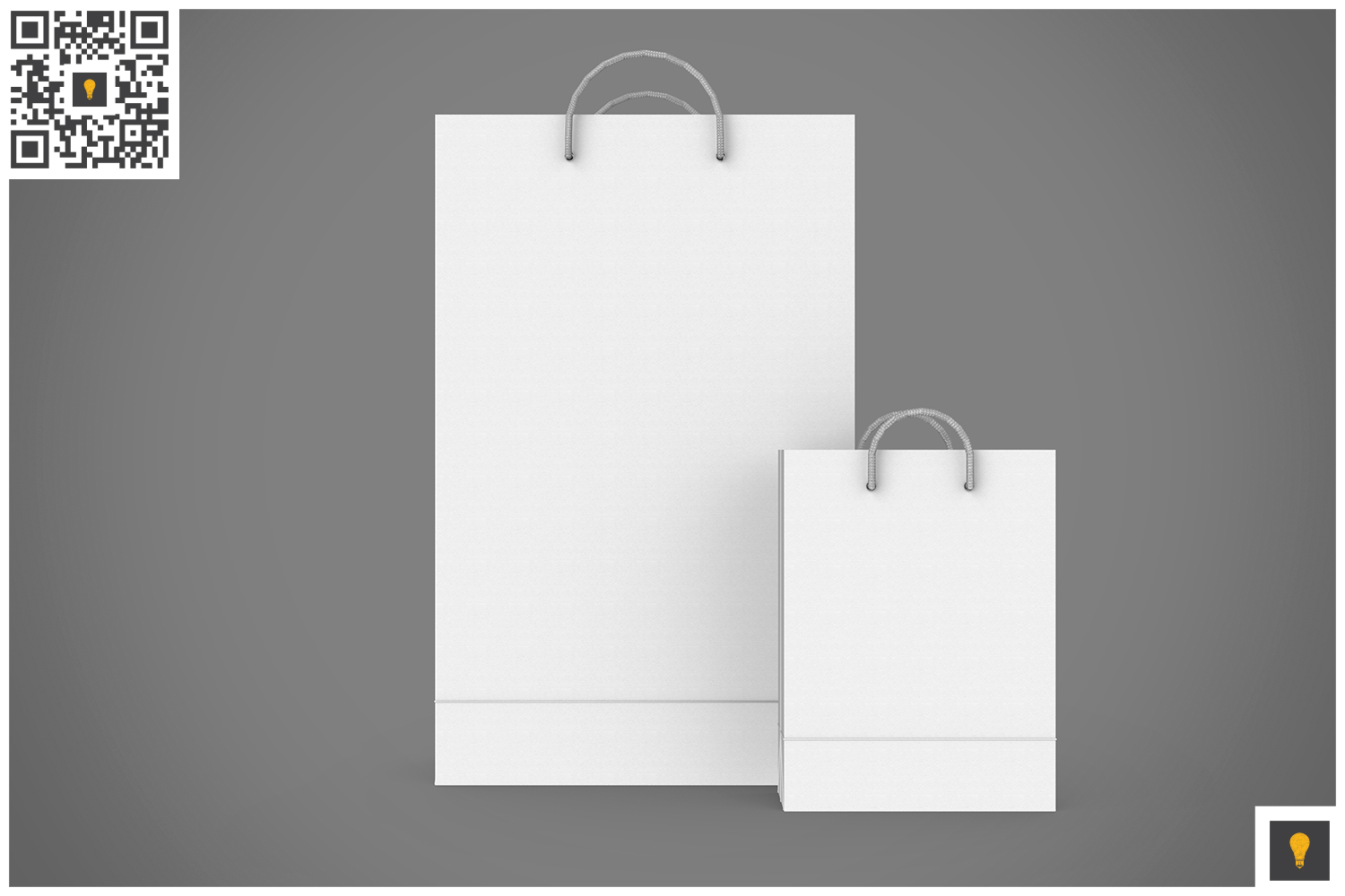 Shopping Bag 3D Render example image 6