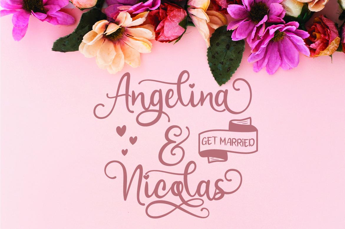 Sweetie Almeera Font Duo example image 10