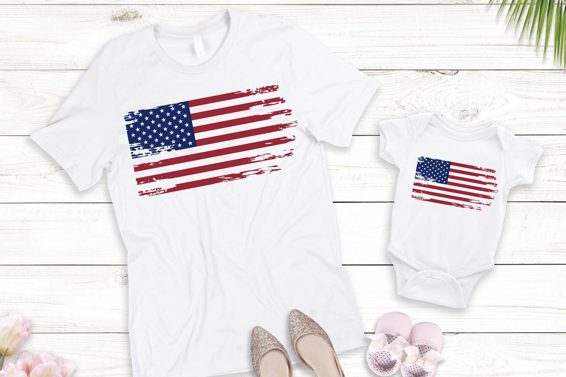 Bundle SVG USA Independence Day. America maps, flag svg example image 8