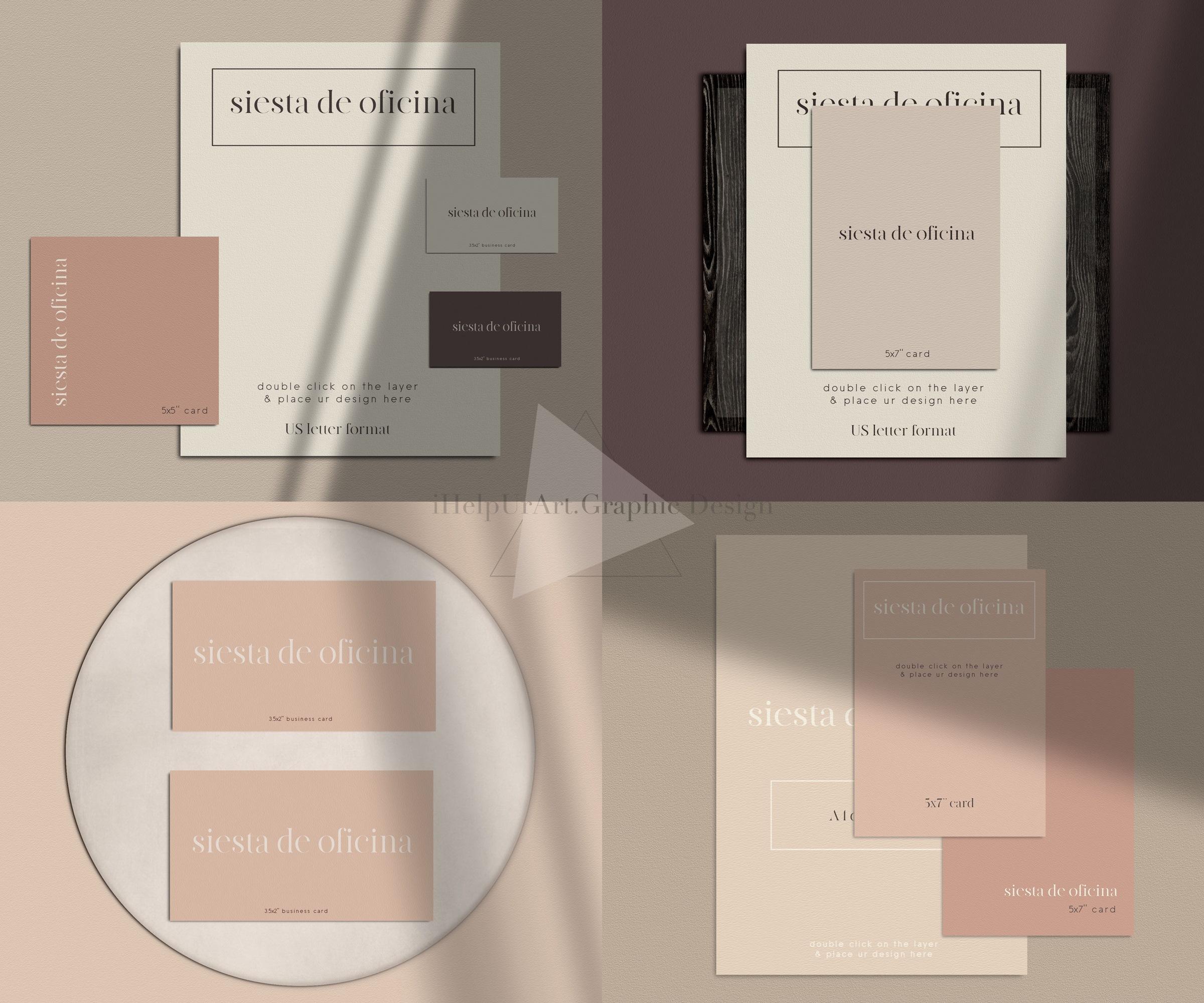 Stationery Scene Creator - Realistic Mockup example image 9