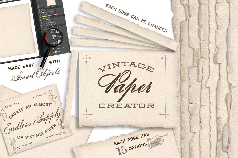 Vintage Paper Creator example image 1