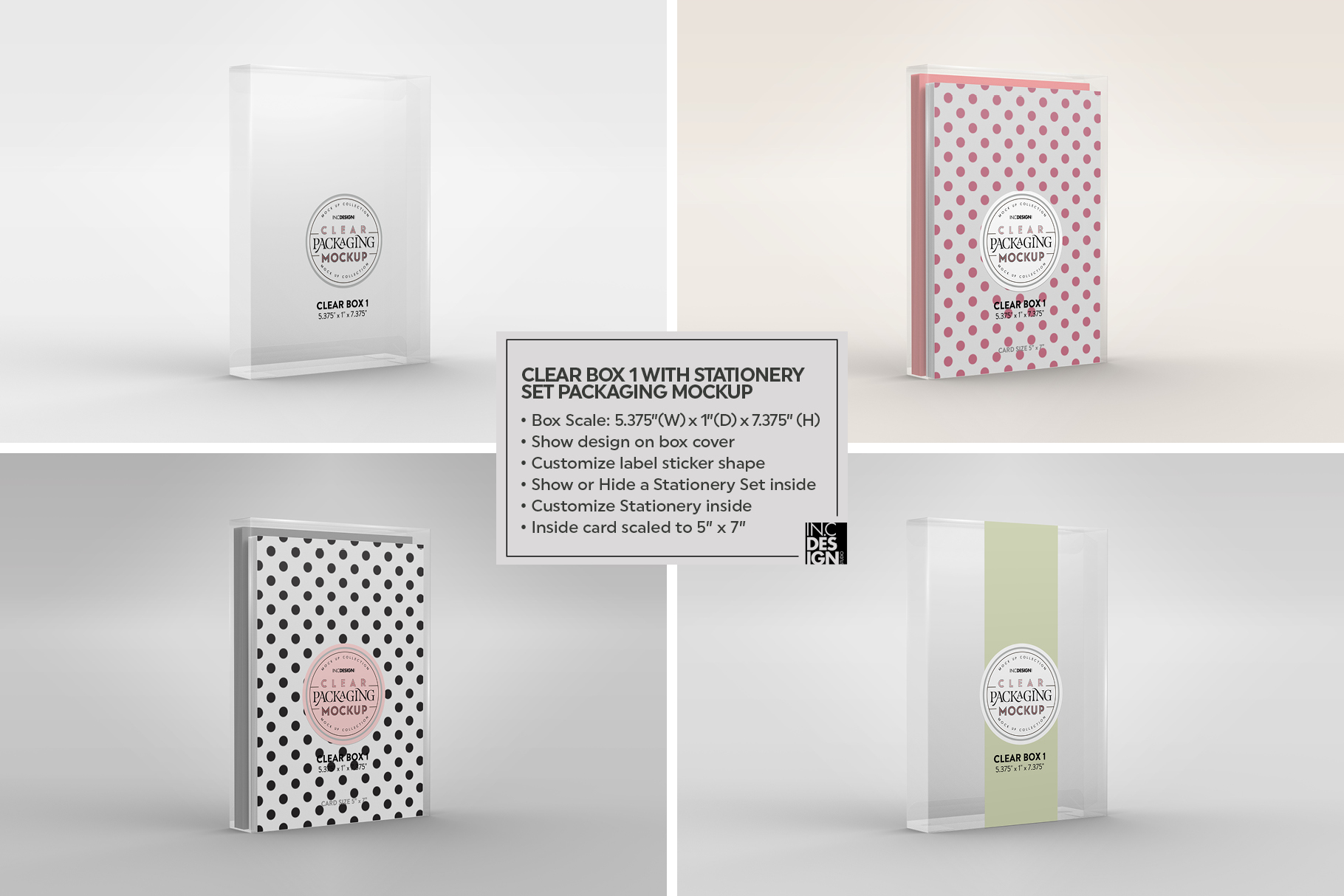 VOL.7 Clear Packaging Mockup Collection example image 13