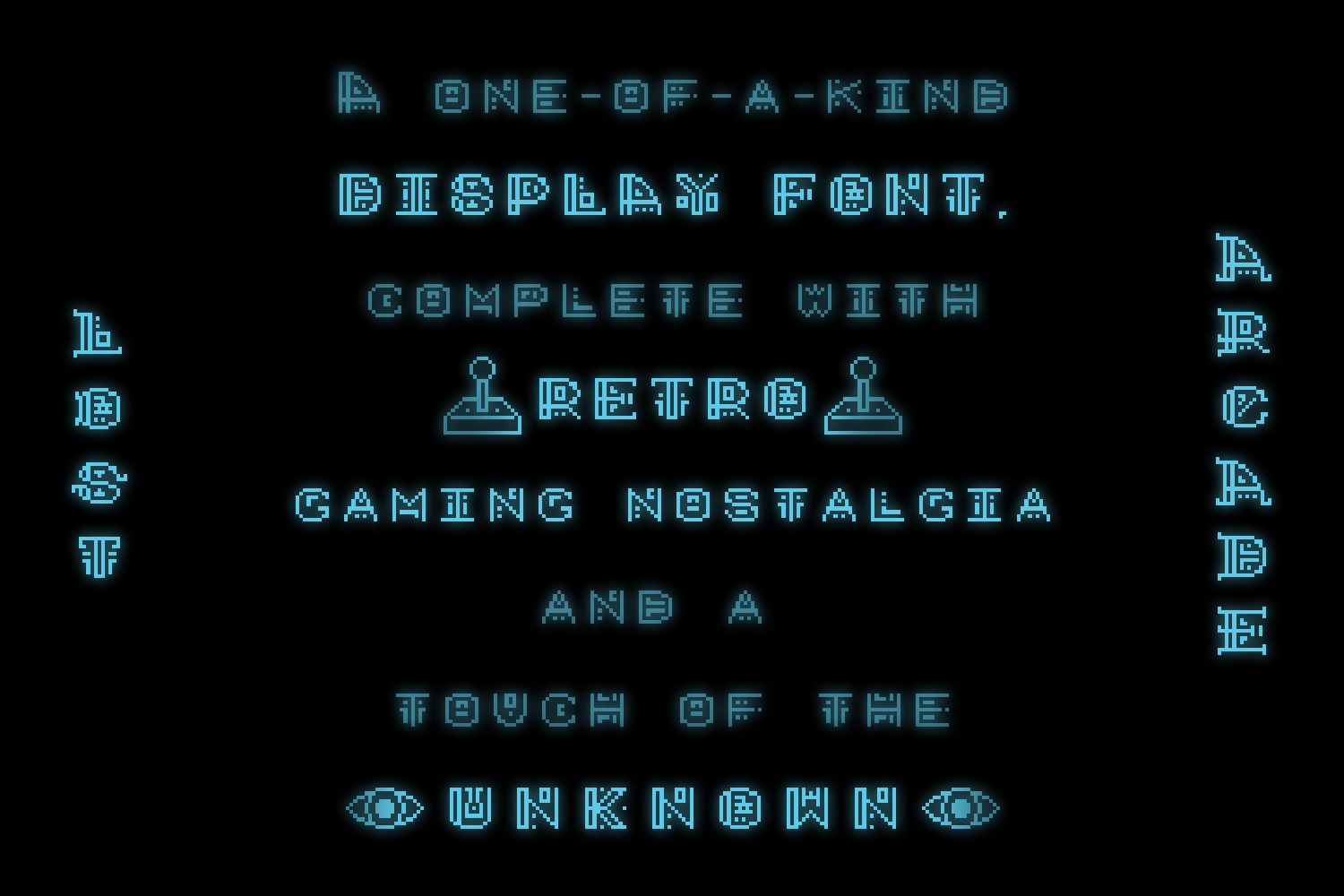 Lost Arcade Full Font Family example image 7