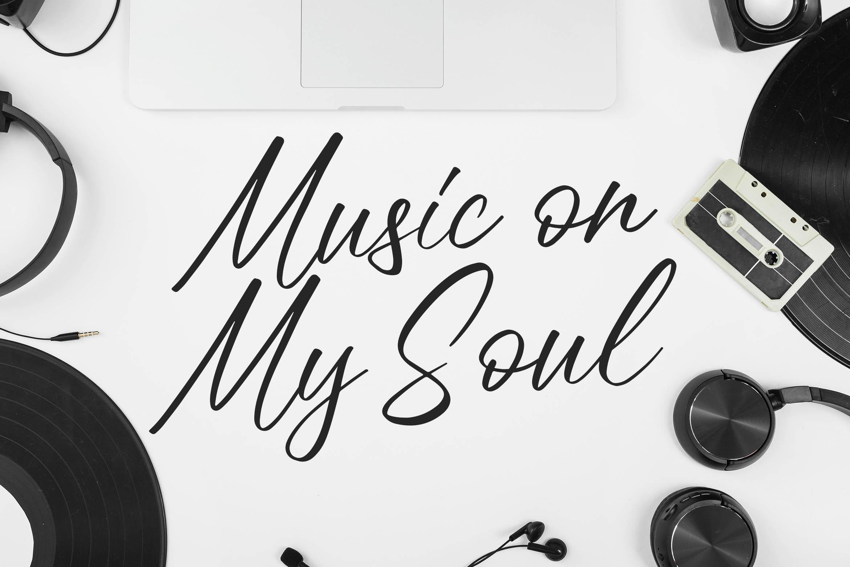 Meloday - Stylish Signature Font example image 6