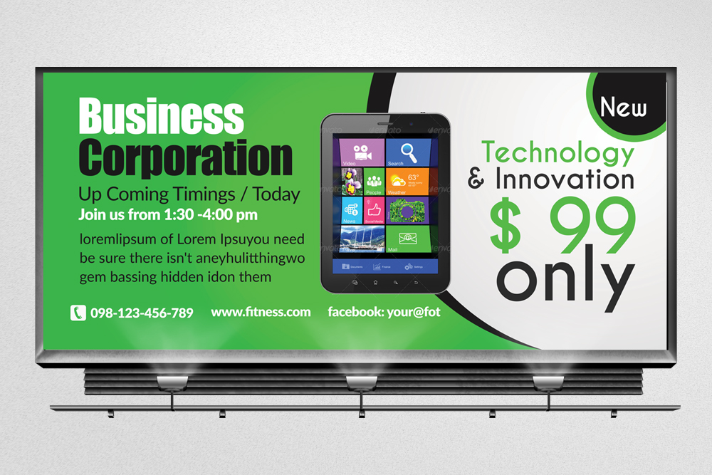 Mobile Apps Billboard Banners example image 3