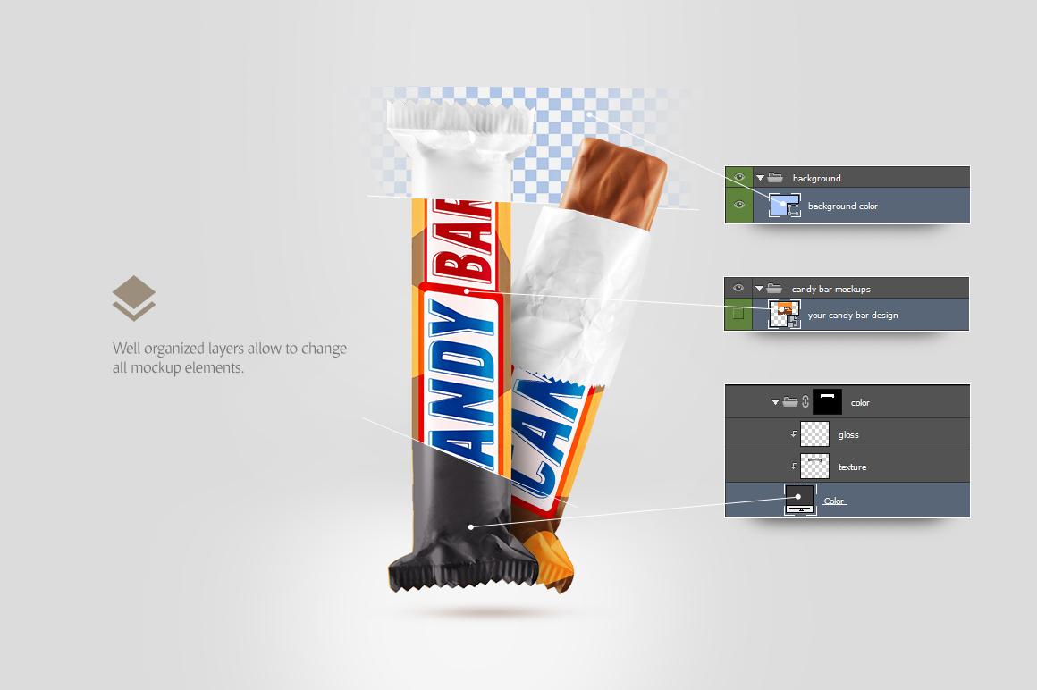 candy bar mockup example image 5