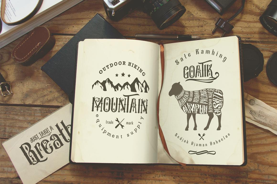 Besigetz Typeface example image 4