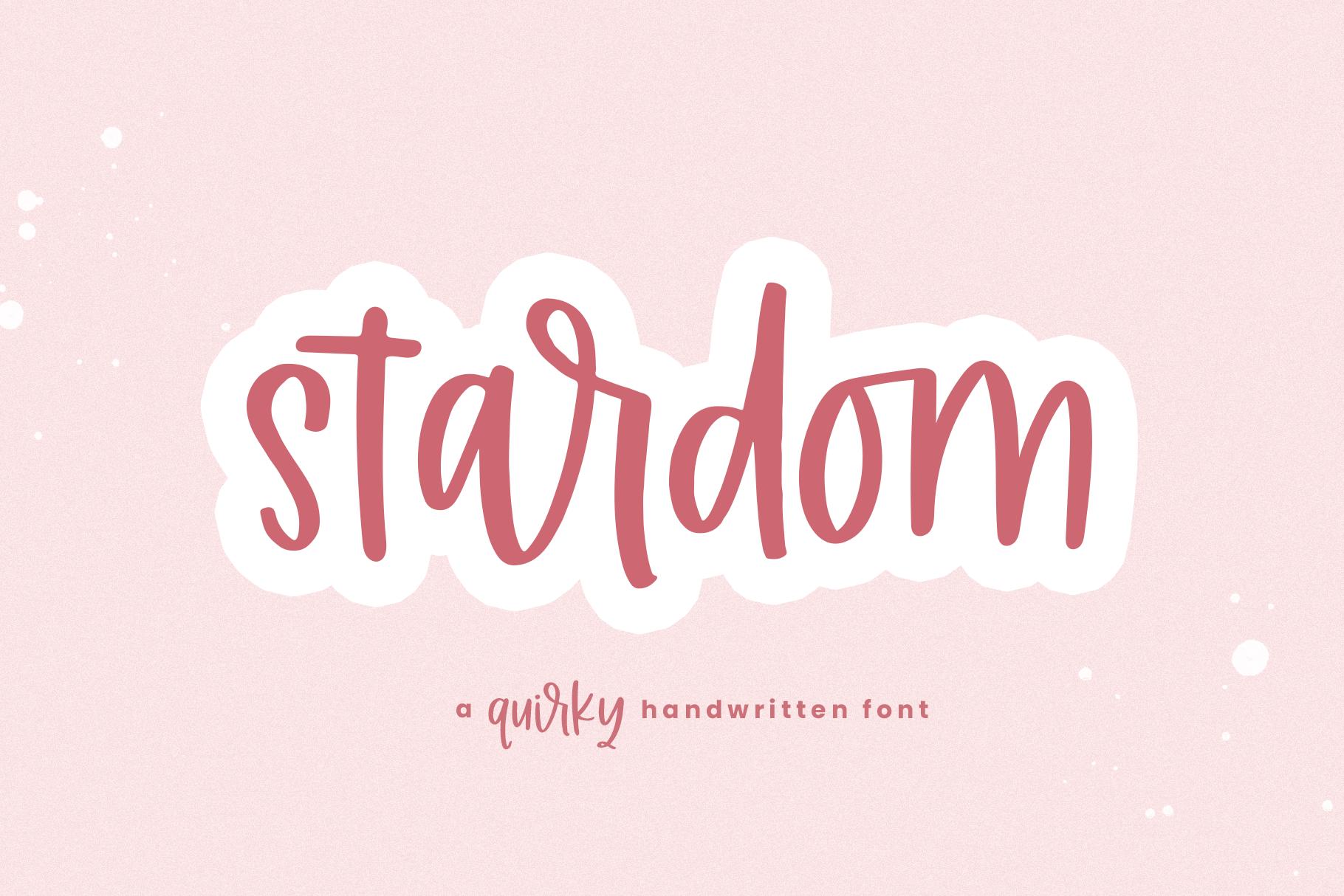 The Mini Crafty Bundle - 10 Fun & Quirky Fonts example image 23