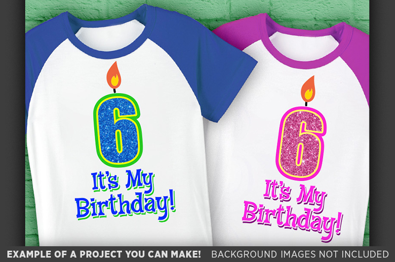 6th Birthday Svg - Its My Birthday SVG Birthday Shirt - 1033 example image 2