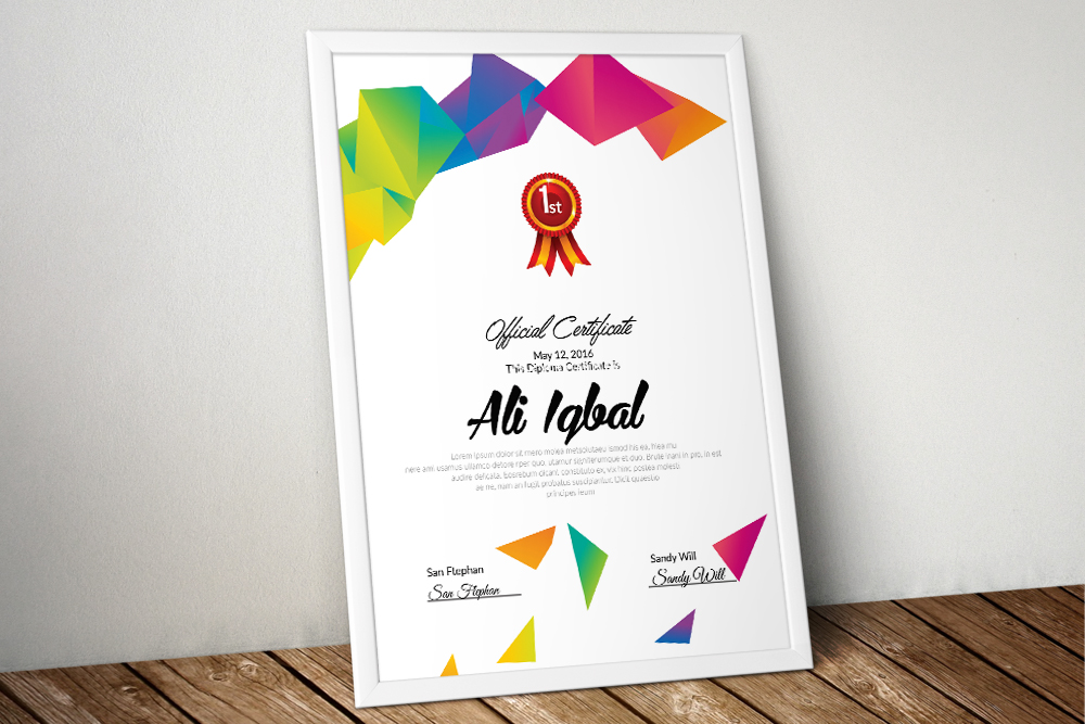 10 Certificates Template Bundle example image 6