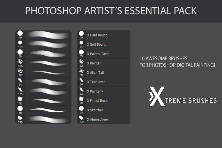 Photoshop Artist's Essential Pack example image 2
