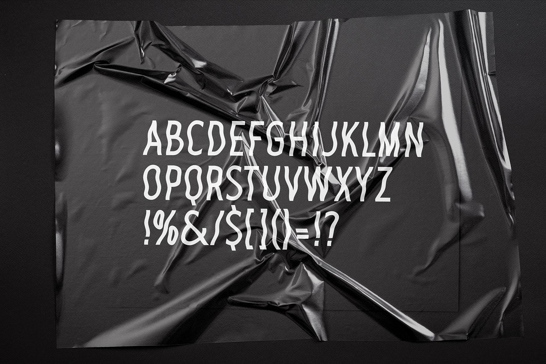Plastic Sans example image 2