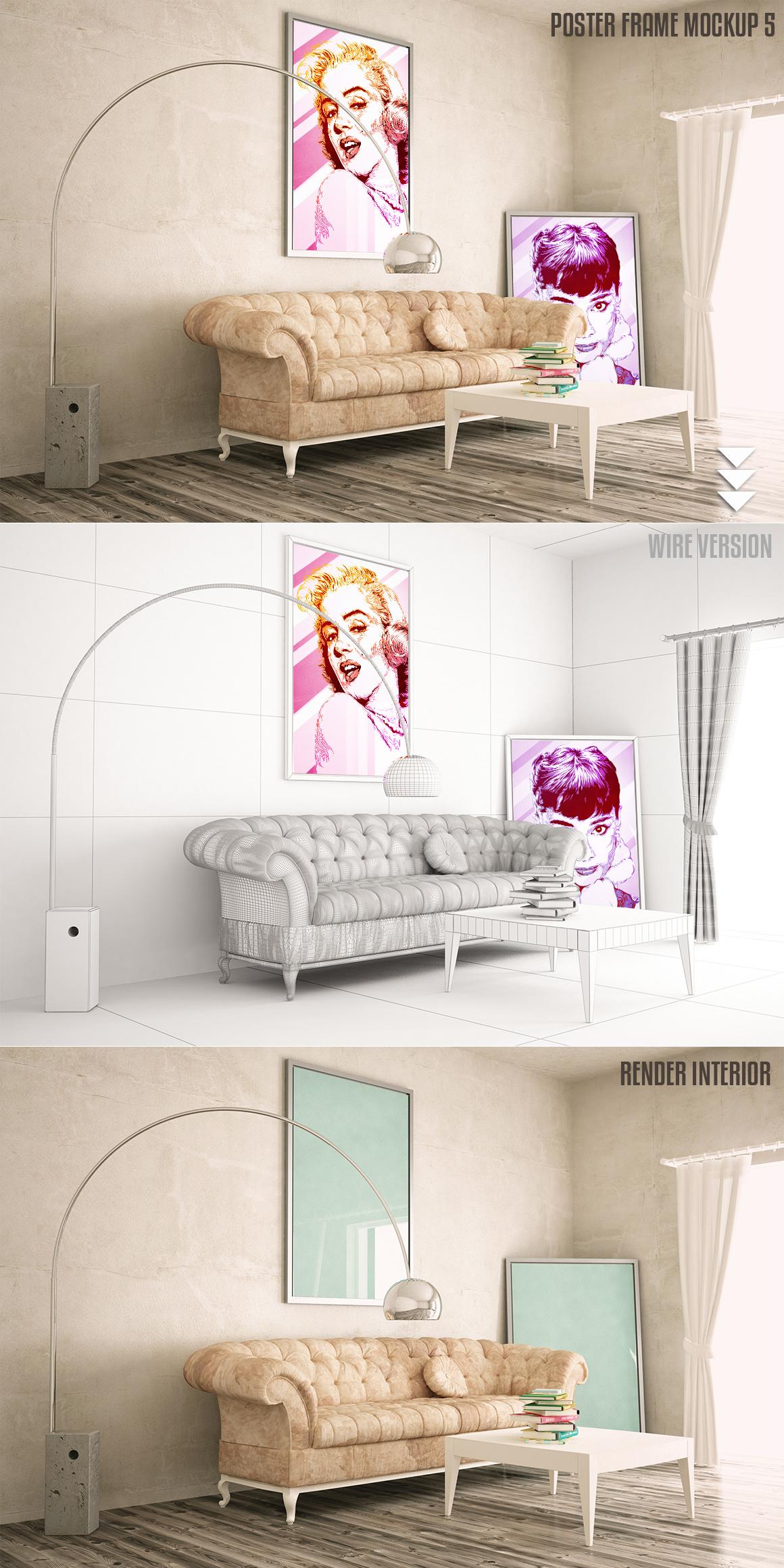 Interiors mock-up Vol. 2 example image 5