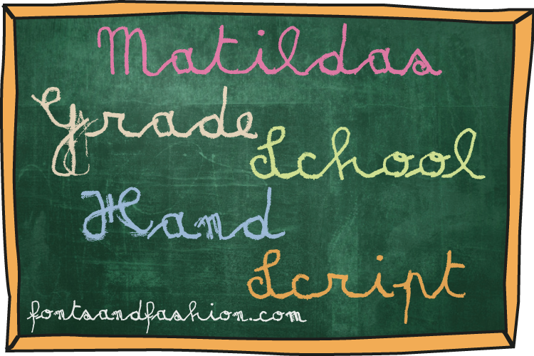 Matildas Grade School Hand_Pack example image 12