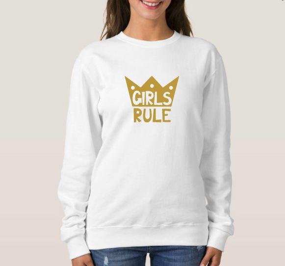 Girls rule Svg - Boys rule Svg -Digital Files - Svg digital example image 5