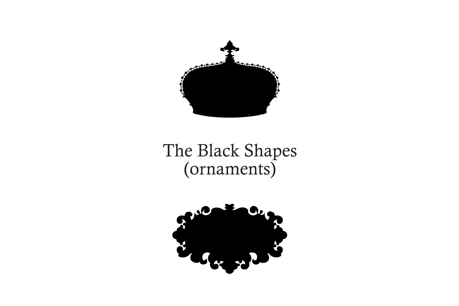 The Black Shapes example image 2