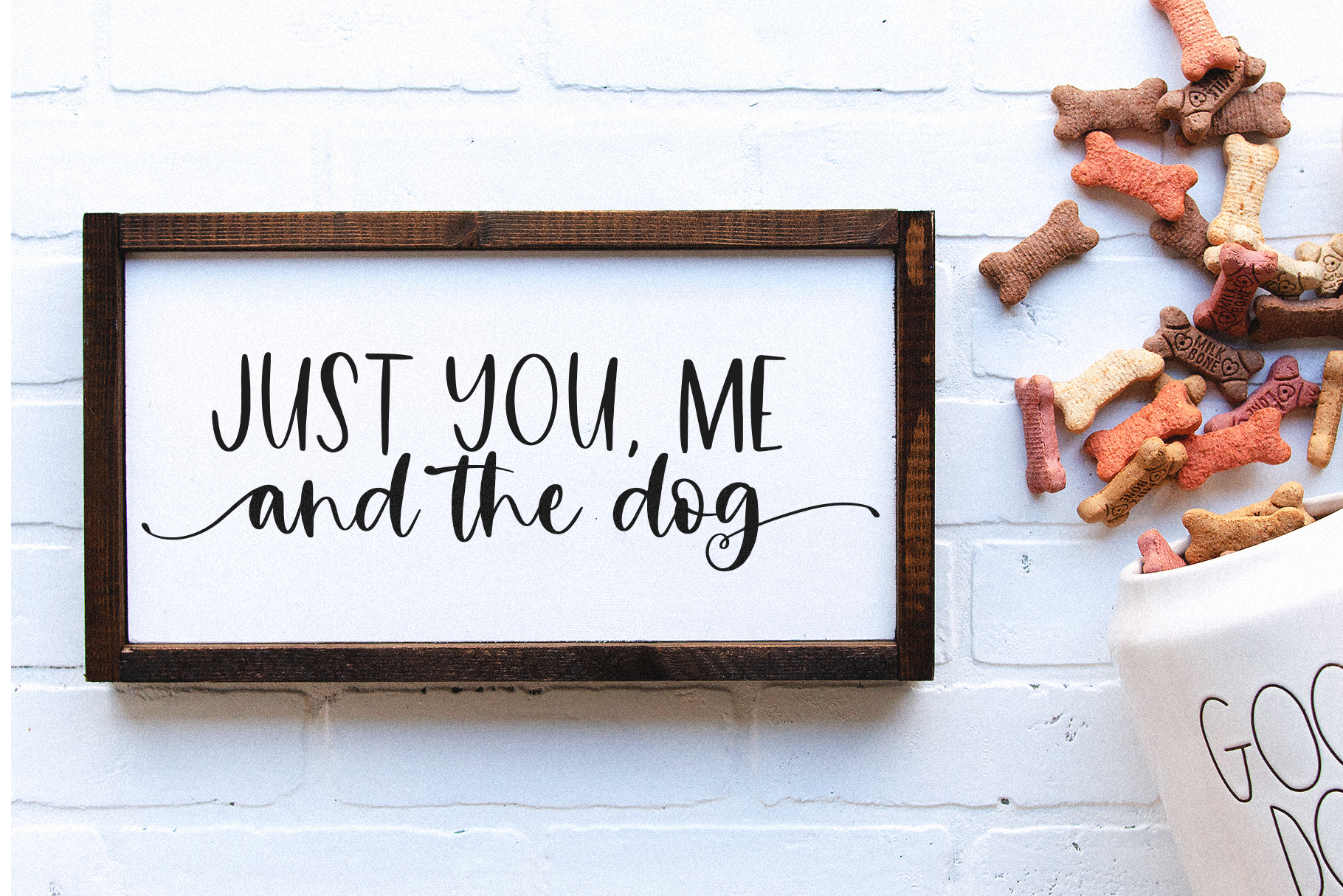 Countryside Farmhouse - A Font Duo with Doodles example image 3