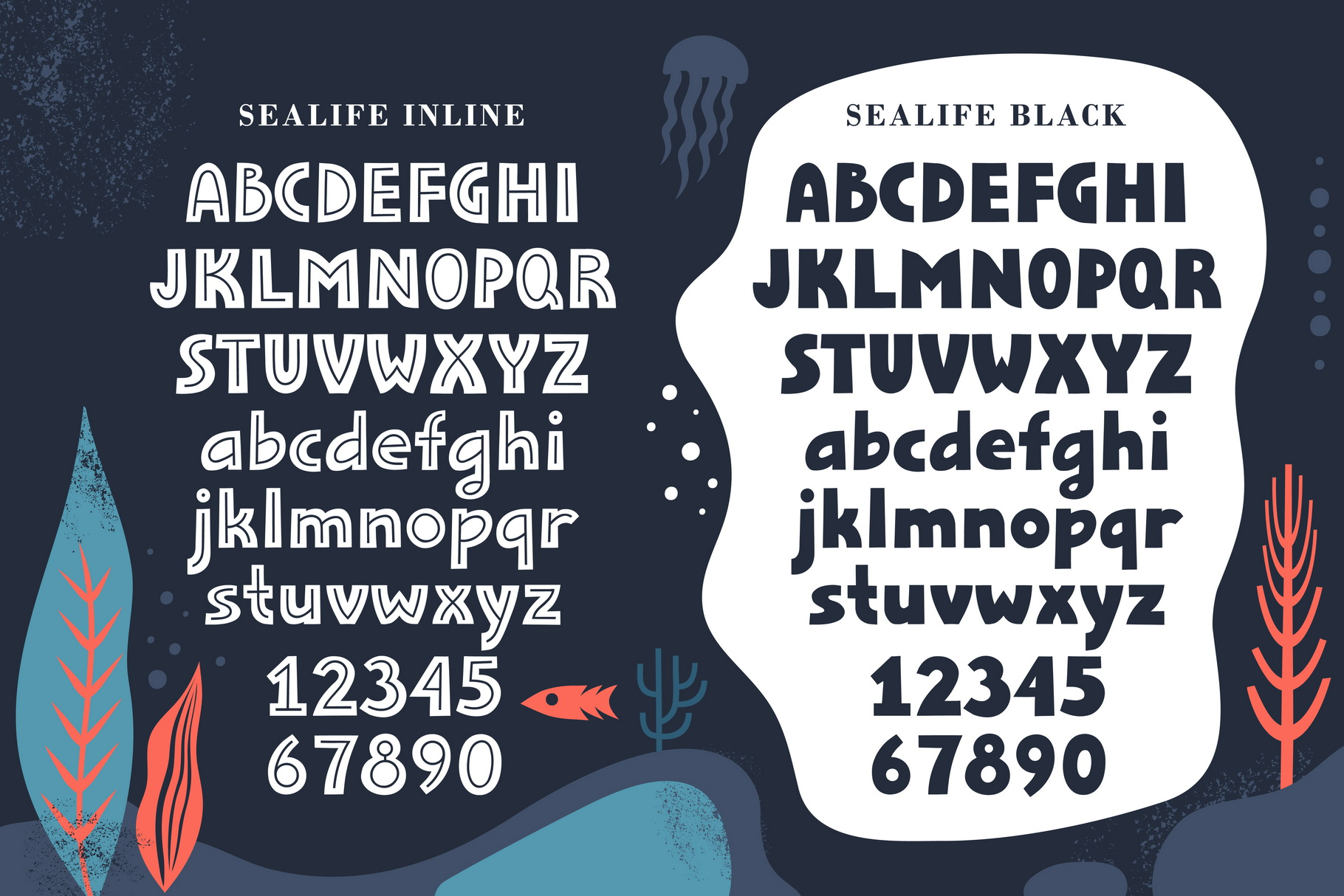 Sealife Font Family example image 5