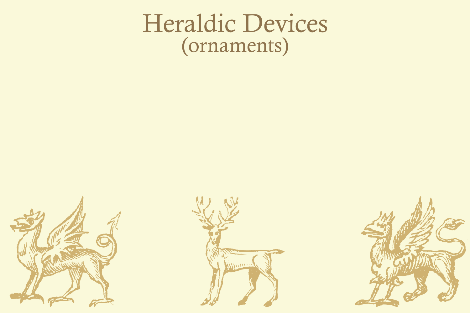 Heraldic Devices Premium (pack)  example image 8