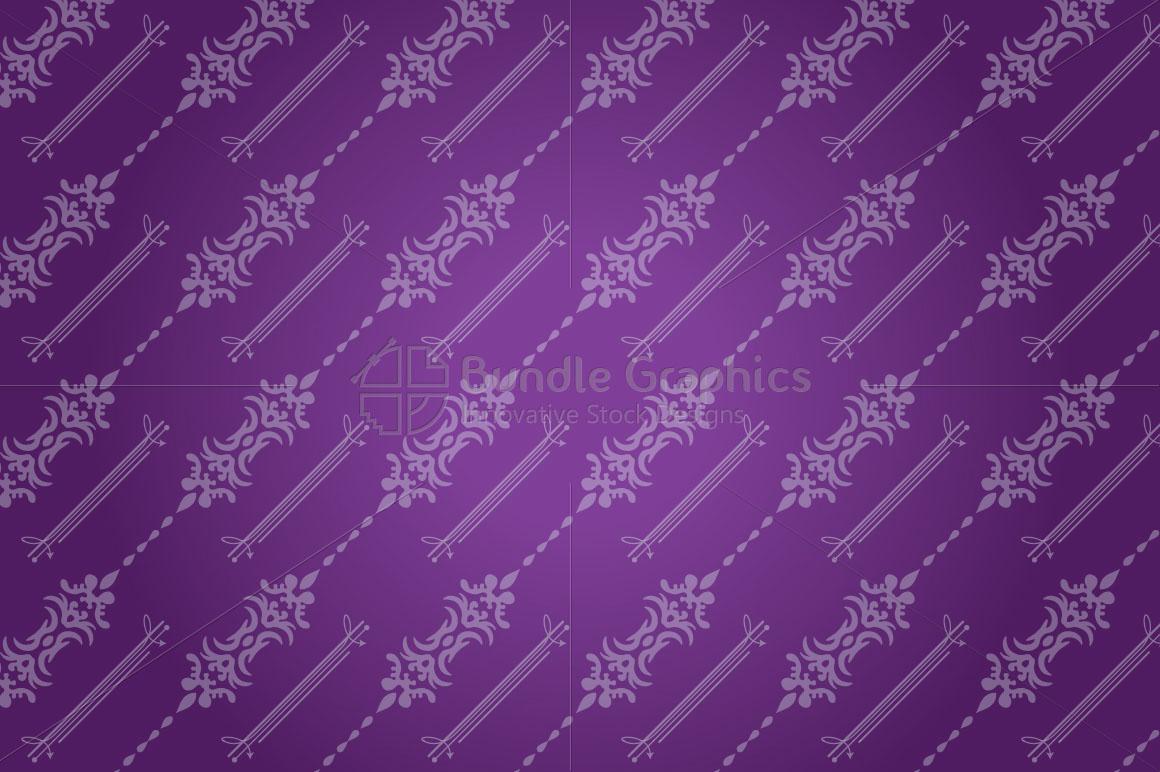 Decorative Seamless background example image 1