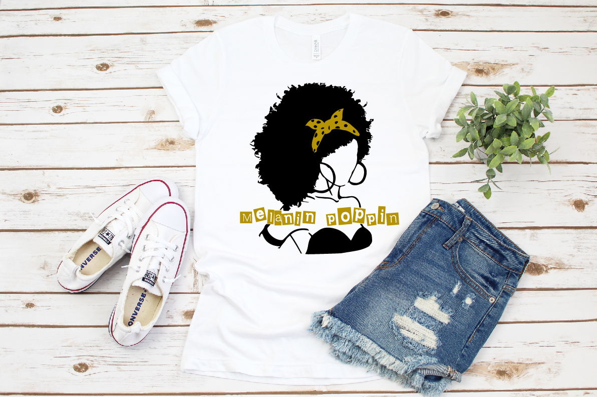 Black woman svg, black woman and educated svg roots example image 2