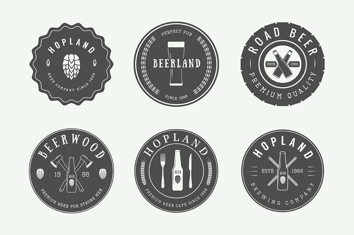 Beer Emblems Bundle example image 6