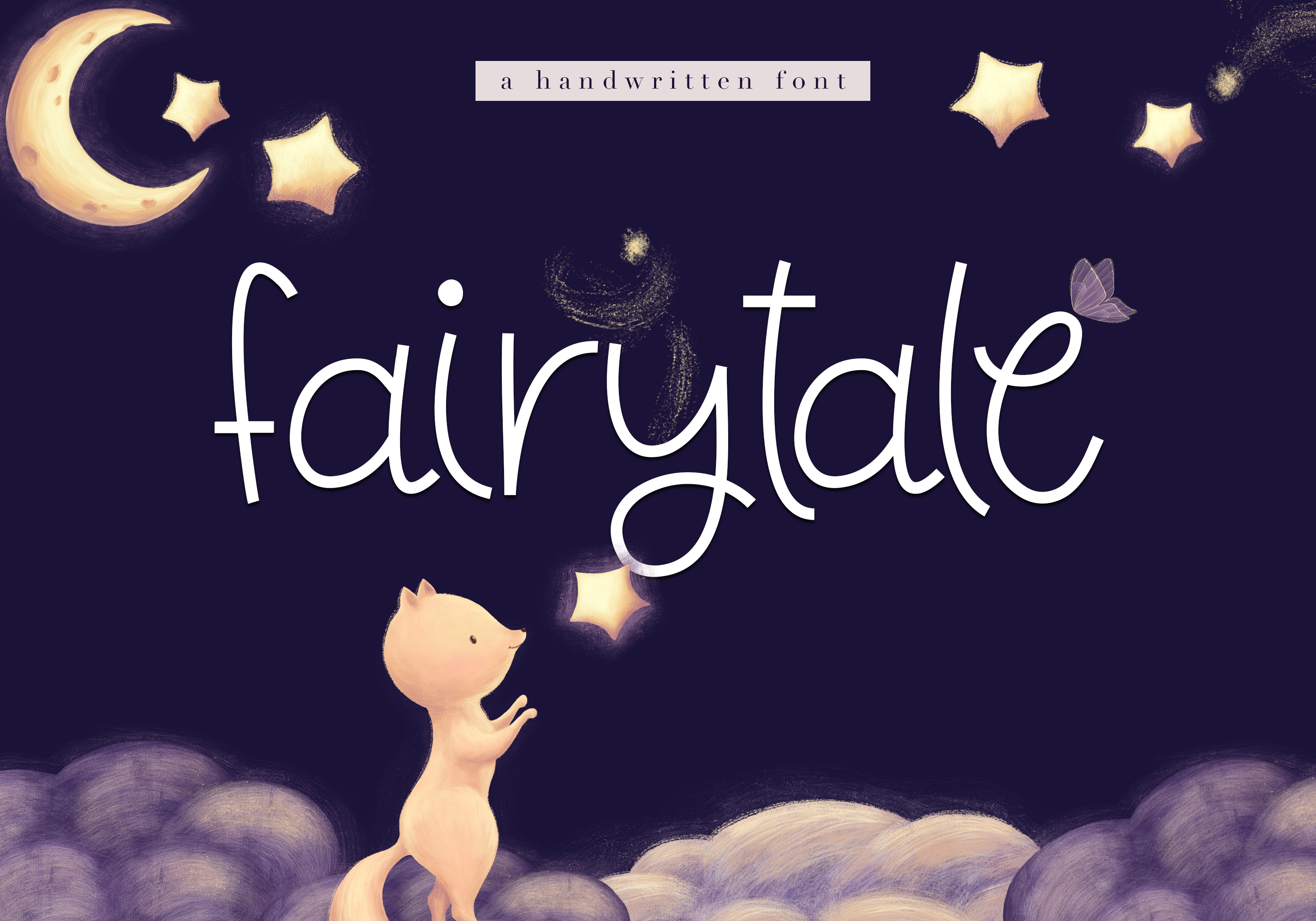 Fairytale - A Cute Handwritten Font example image 1