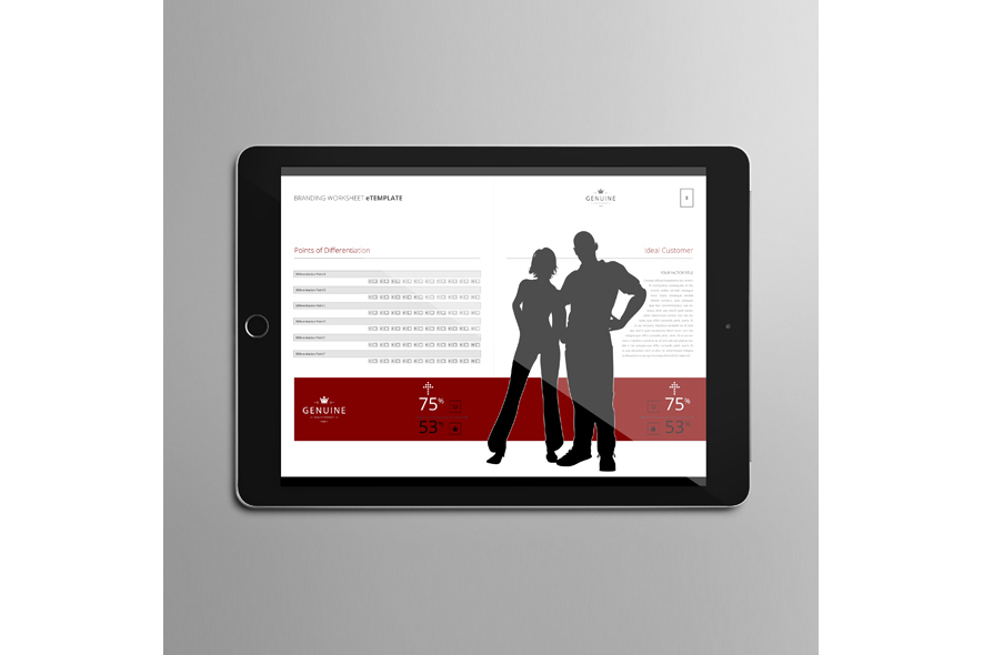 Branding Worksheet eTemplate example image 4