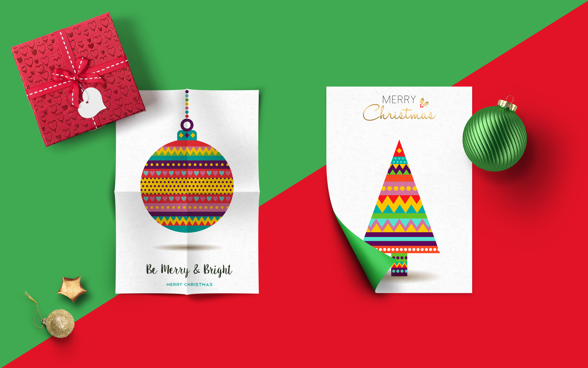 Christmas Geometric typeset + MORE - 90% OFF!  example image 6