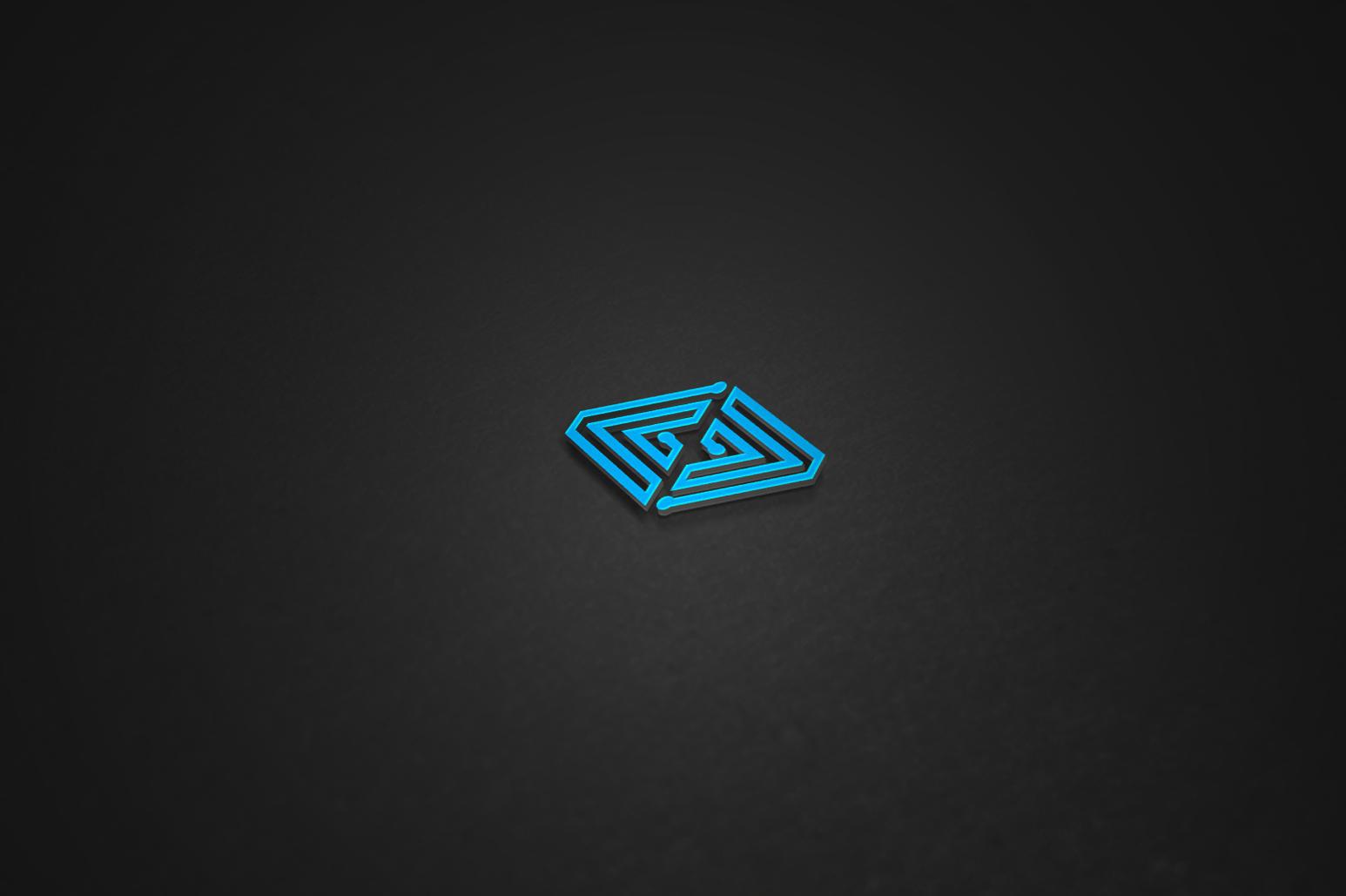 Technology Logo Design Set example image 4